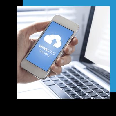 mobile cloud access setup
