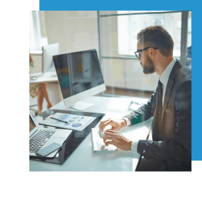 Top IT consulting firms supporting your business through a computer